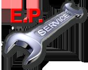 E.P. Service Logo